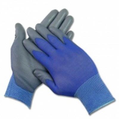 PU-PALM 블루+그레이 코팅 팜장갑 (100켤레)