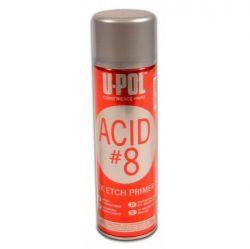 유폴 ACID #8 에치프라이머 (영국)<br>450ml 그레이(회색)