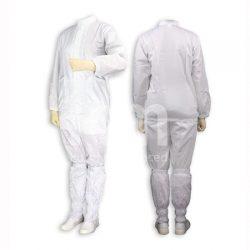 정전기방진복 (화이트/블루/그레이)<br>(긴팔 / 2pcs) 도장복 - 보호복