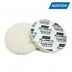 노튼(Norton) 광택 스폰지 패드 8인치 KW8001 (초벌용 엠보싱)