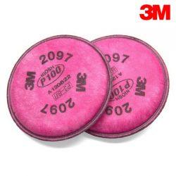 3M 방독면 필터 (2097K) 2EA/SET