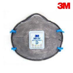 3M 방진마스크 - 9913V 1급 밸브형 분진 미스트 용접흄 활성탄 냄새제거 10EA
