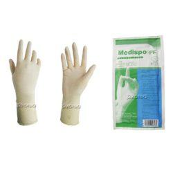 Medispo 수술용 장갑 (의료용) 인증(1pack) 감염예방 오염방지 멸균포장