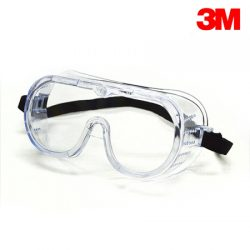 3M 보안경 (332 고글형) 충격방지용 통기식 코팅렌즈 화학물질 튐방지용