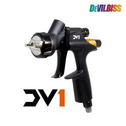 데빌비스 DV1-C1 Plus 스프레이건 1.3mm 중력식 (수성 / 클리어코트)