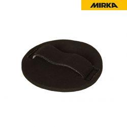 밀카 핸드 샌딩패드 6인치 (원형)<br>벨크로 타입 연마지 부착