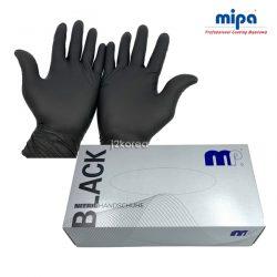 미파 니트릴 글러브 (블랙) 100매<br> 사이즈 M/L 다목적용 장갑
