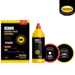 화레크라 G360 FAST 컴파운드 키트<br>KT3001 수용성 광택제 원스텝 콤파운드