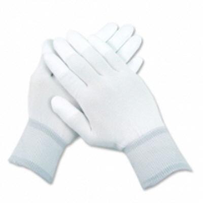 PU-TOP 흰색손끝코팅장갑 (수입)<br> (100켤레)