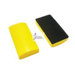 샌딩블럭 (우레탄) - 노랑 (벨크로) 샌딩파일 핸드파일