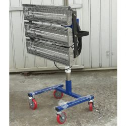 이동식 적외선 건조기 B3 (3구)<br>자동차도장 부스 히터 근적외선