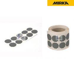 밀카 로즈 연마지 - 1.5인치 100장 <BR>33mm/36mm 해바라기형 (본드식) 페파 사포