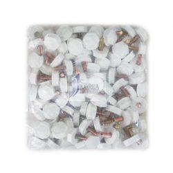 자동차 번호판 볼트 (흰색) 20EA / pack