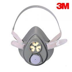 3M 3200 시리즈 방독면 마스크 면체